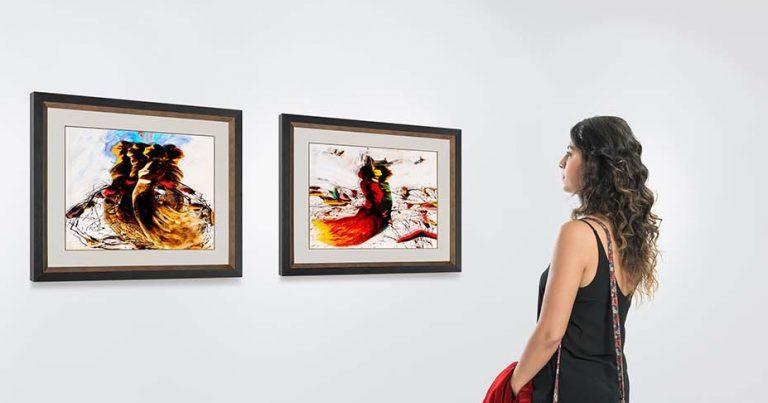 Exposición «Goya y Dalí, del capricho al disparate». Universidad de León. León, España