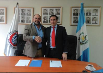 FUNIBER firma convenio con el Colegio de Ingenieros Químicos de Guatemala, CIQ para ampliar la formación de sus colegiados