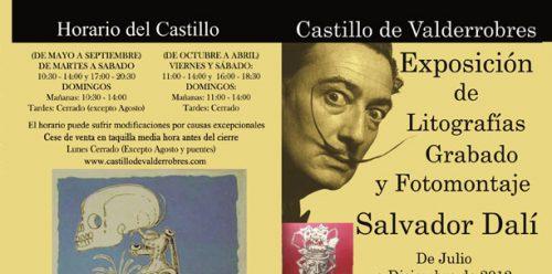 Exposición de Litografías, Grabado y Fotomontaje de Salvador Dalí. España