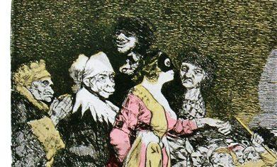 Exposición «Goya y Dalí: Del capricho al disparate». Quito, Ecuador