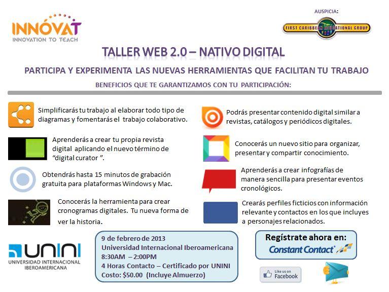 Taller Web 2.0- Nativo Digital