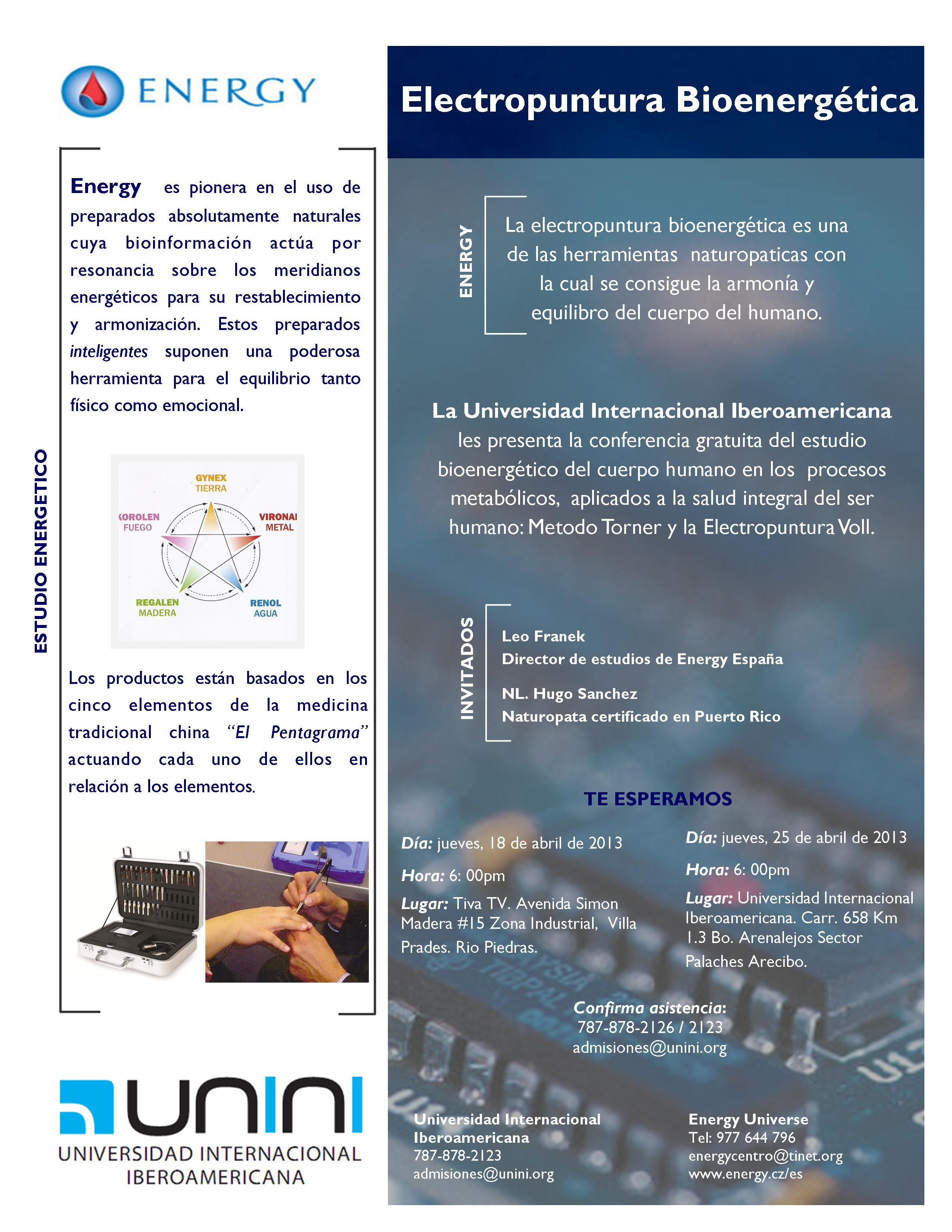 Electropuntura Bioenergética
