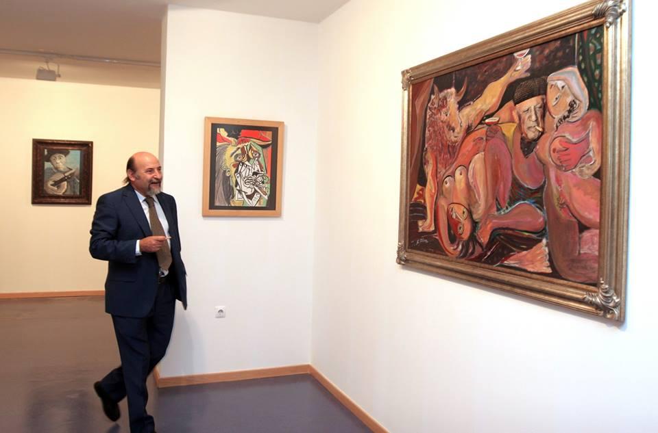 FUNIBER muestra serie de grabados de Picasso por primera vez en León
