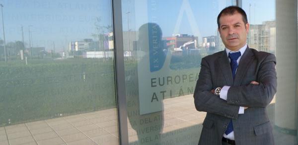 Rubén Calderón Iglesias, rector de la Universidad Europea del Atlántico
