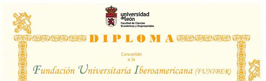 Funiber patrocina la VI Olimpiada de Economía de la Universidad de León