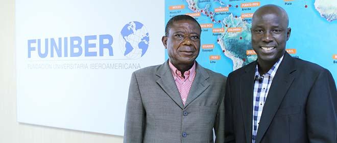 Los delegados de FUNIBER en Senegal y Guinea Ecuatorial visitan la sede de la Fundación en España