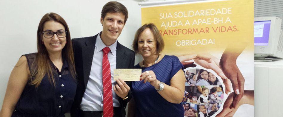 FUNIBER entrega el primer premio del FUNICONCURSO «Publicación Solidaria»