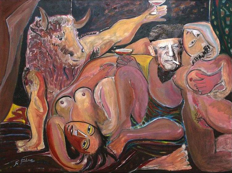 FUNIBER inaugura la exposición de Picasso: «El Entierro del Conde de Orgaz» y «La Flauta Doble»