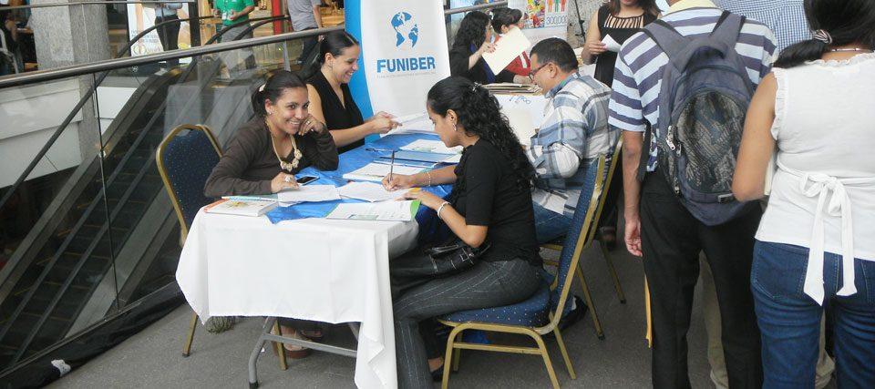 FUNIBER participó en la Feria de Empleo 2015 en Tegucigalpa (Honduras)