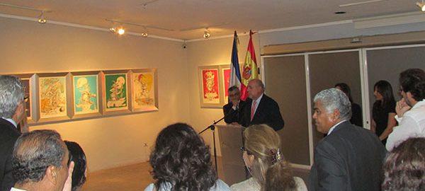 Inauguración de la exposición «Las Cenas de Gala» y «Los Sueños Caprichosos de Pantagruel» de Dalí en El Salvador