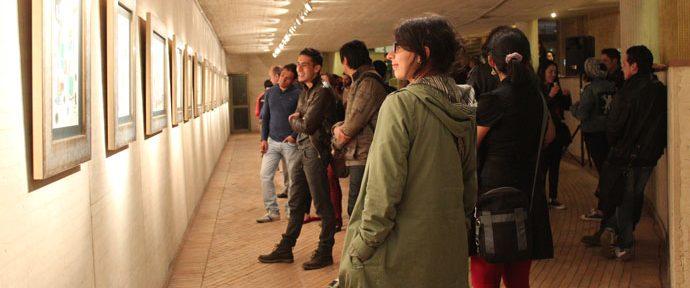 """250 personas asisten a la inauguración de la Exposición """"Miro: Pintor, poeta"""" en Bogotá (Colombia)"""
