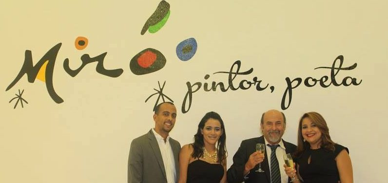 FUNIBER presenta la exposición «Miró: pintor, poeta» en República Dominicana