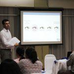 Erik Simões realiza una conferencia sobre metodología de la investigación