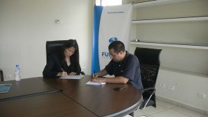 FUNIBER firma un convenio con COPRUMH en Honduras