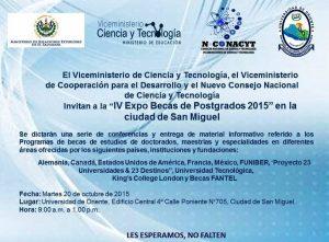 FUNIBER participa en Expo Becas en El Salvador