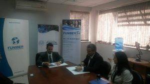 FUNIBER y INFONA firman un convenio en Paraguay