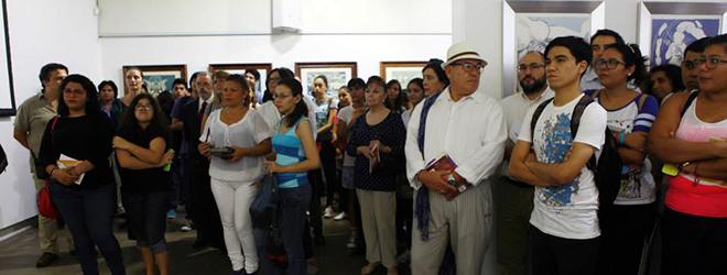 150 personas asisten a la inauguración de la Exposición de Dalí en Managua (Nicaragua)