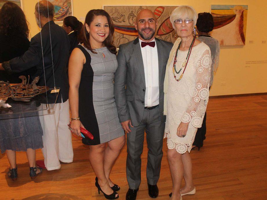 """FUNIBER patrocinó la inauguración de la exposición Miró: pintor, poeta""""en Santiago de los Caballeros (RD)"""