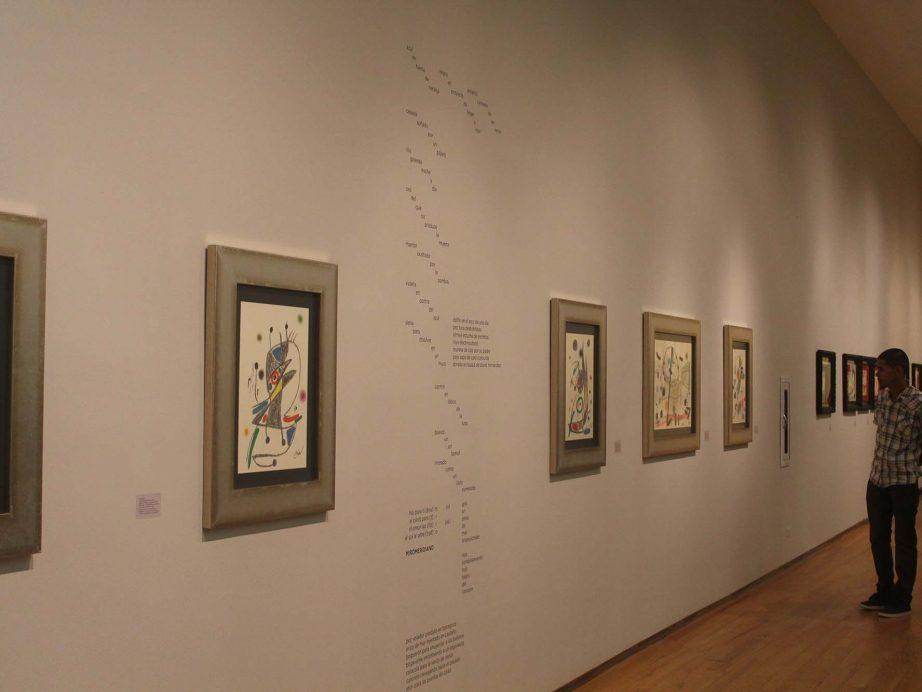 """FUNIBER patrocinó la inauguración de la exposición Miró: pintor, poeta""""en República Dominicana"""
