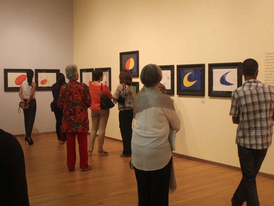 """FUNIBER patrocinó la inauguración de la exposición Miró: pintor, poeta""""en Santiago de los Caballeros República Dominicana"""