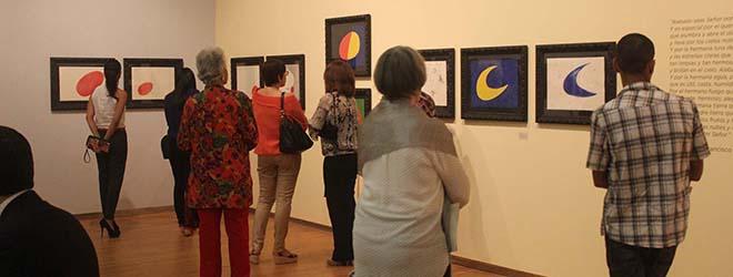 """FUNIBER patrocinó la inauguración de la exposición """"Miró: pintor, poeta"""" en Santiago de los Caballeros (República Dominicana)"""