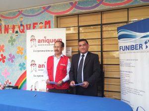FUNIBER y ANIQUEM firman un convenio de colaboración en Perú