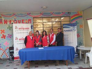 FUNIBER Perú y ANIQUEM firman un convenio de colaboración en el Perú
