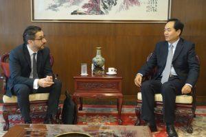 El Embajador de China en Buenos Aires recibe al Director de FUNIBER Argentina