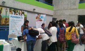 FUNIBER Honduras participó en la 1ª Expo Becas UNAH en Honduras