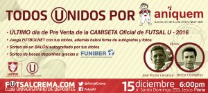 FUNIBER firmará un convenio de colaboración con ANIQUEM en Perú