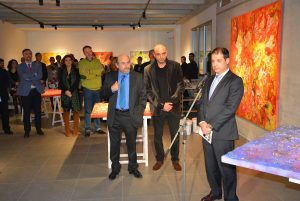 Exposición de Arcangel Soul inaugurada en UNEATLANTICO