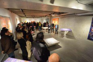 Inaugurada la exposición de Arcangel Soul en UNEATLANTICO, Santander