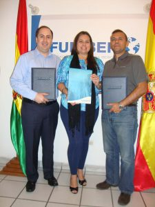FUNIBER firma un convenio de colaboración con la Escuela de Fútbol El Semillero en Bolivia