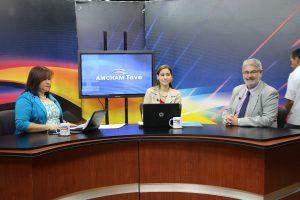 FUNIBER aparece en el canal de televisión de la Cámara de Comercio Americana de Nicaragua AMCHAM TV