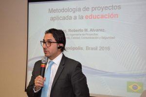 Roberto Alvarez participó en el 1r Encuentro de Educación de FUNIBER en Brasil
