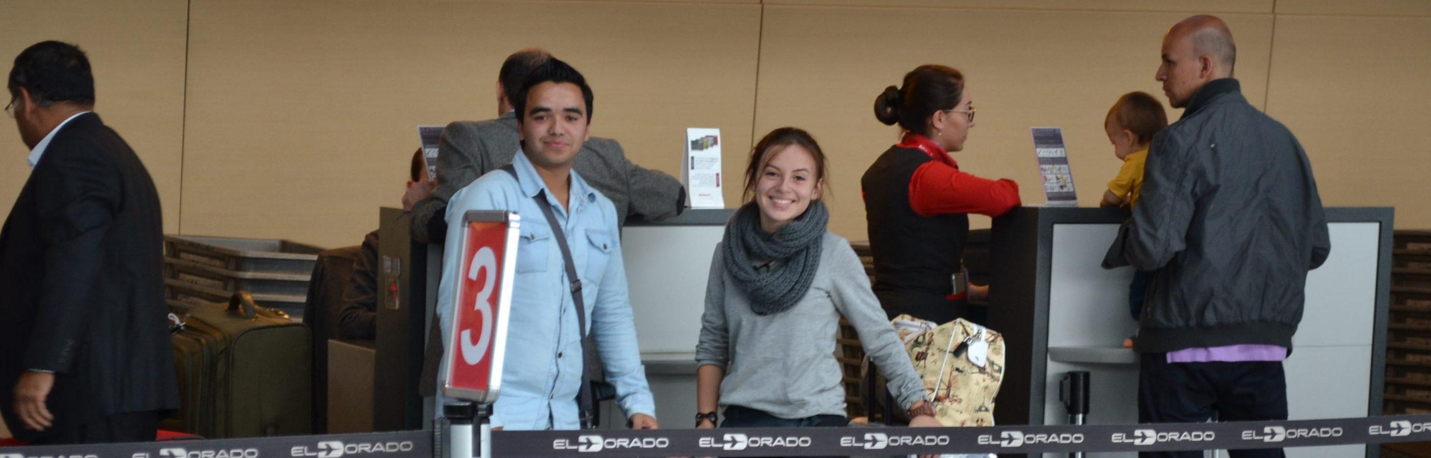 Estudiantes de Colombia becados por FUNIBER, CEA y UNEATLANTICO llegan a Santander (España)