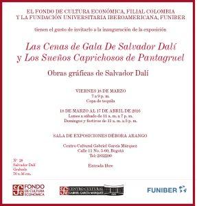 FUNIBER patrocina exposición de Salvador Dalí en Colombia