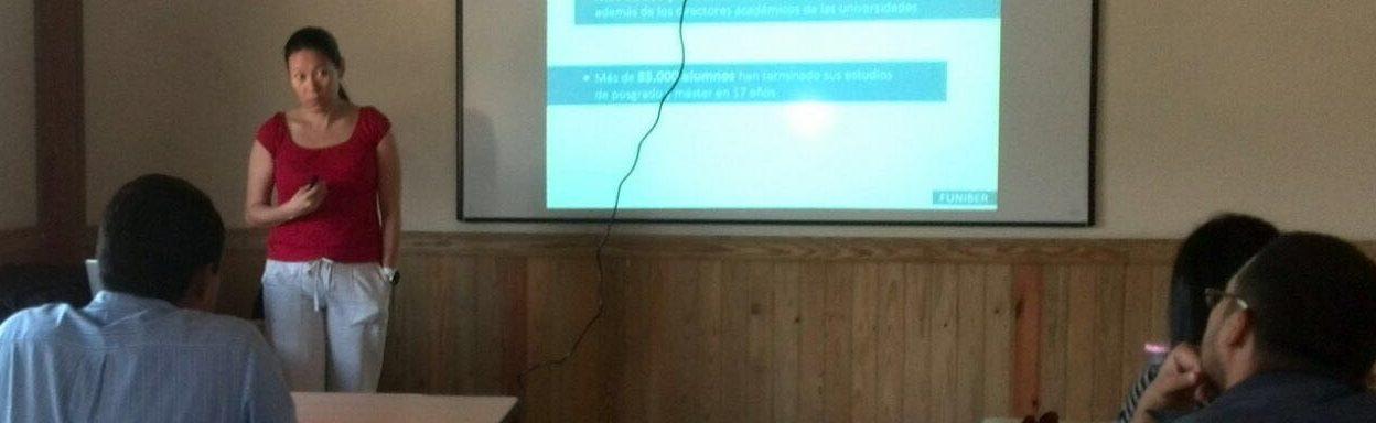 El Programa de Becas de FUNIBER presentado en el Campus de Comayagua de la UJCV