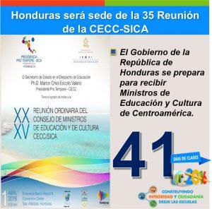 FUNIBER presentará el Programa de Becas en la XXXV Cumbre de Educación de CECC/SICA en Honduras