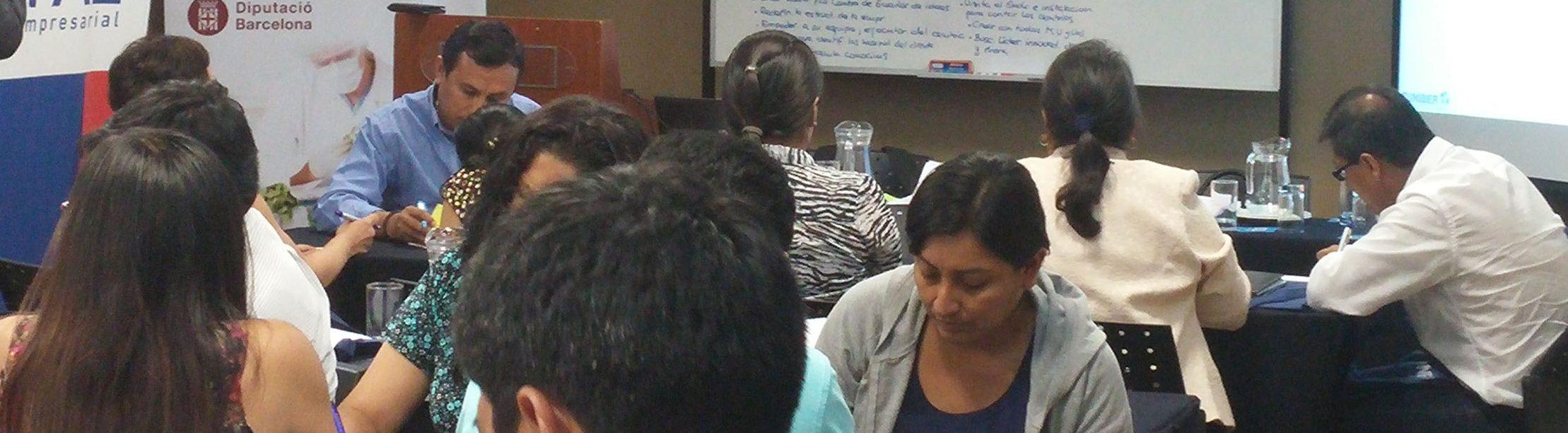 Inicio del Taller de Herramientas para la innovación en Perú organizado por FUNIBER