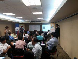 Inicio del Taller de Herramientas para la innovación en Perú patrocinado por FUNIBER