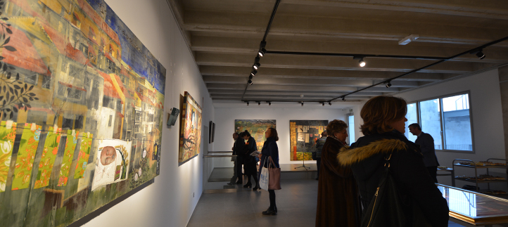 """FUNIBER patrocina la exposición """"Colores en mis bolsillos"""" de Anna Tamayo en UNEATLANTICO"""