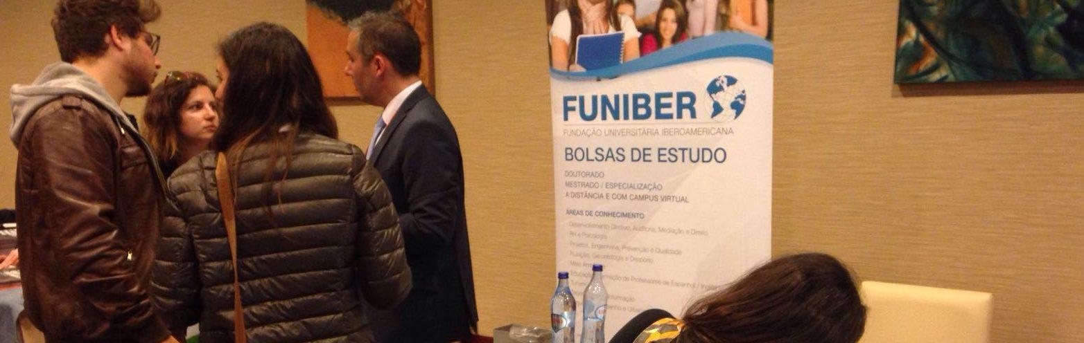 FUNIBER participa en la Feria Internacional de Estudios de Postgrado en Lisboa (Portugal)