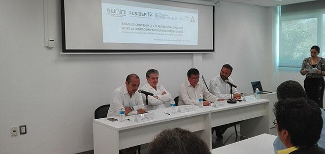 FUNIBER firma un convenio de becas con FPG y UNINI México