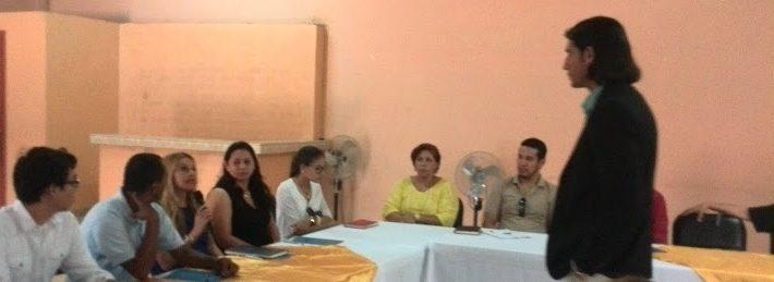 Conferencia de Santiago Tejedor para empresarios en Honduras