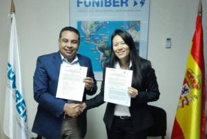 FUNIBER y la Universidad Nacional de Agricultura de Honduras firman un convenio de becas para docentes