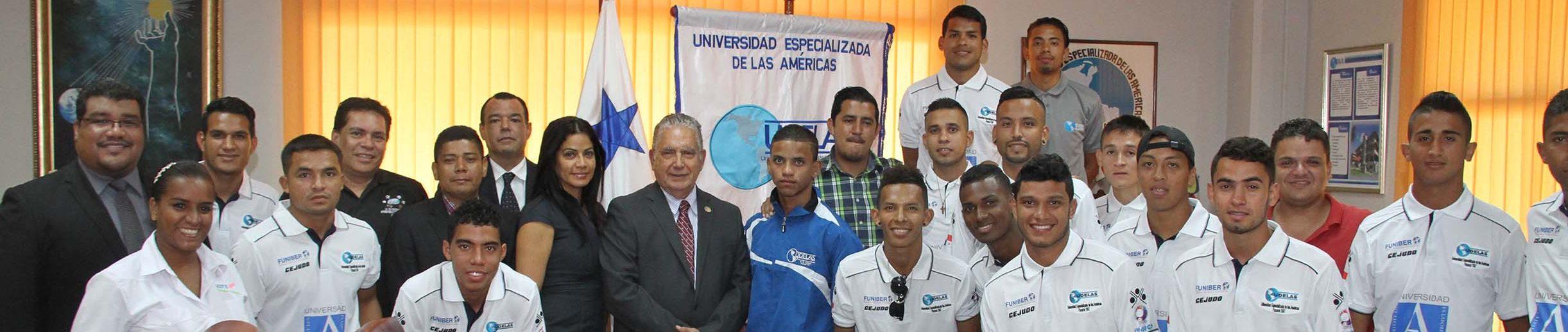 FUNIBER patrocina el equipo de UDELAS en los VI Juegos Deportivos Universitarios Centroamericanos
