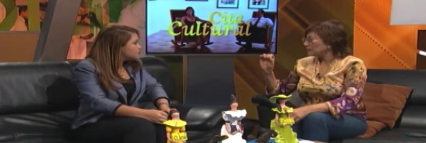 """Massiel Castro entrevistada en el programa """"Ojalá"""" del Canal 4 RD en República Dominicana"""