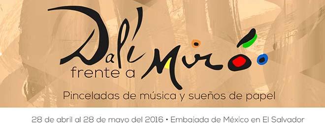 """Inauguración de la exposición """"Dalí frente a Miró"""" en El Salvador"""