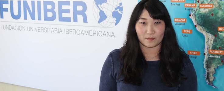 Delegada de FUNIBER en China visita la sede de la Fundación en España